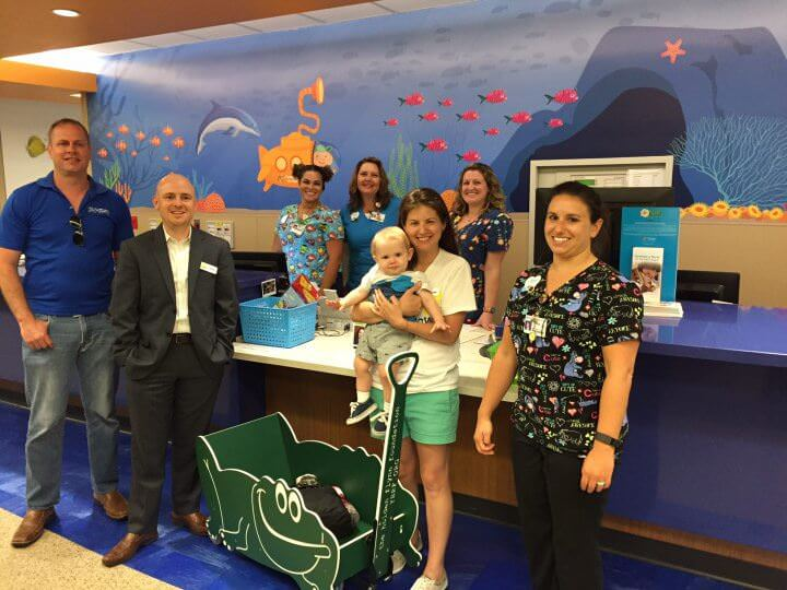 Guardian Water Services Wagon Winner - Nemours Children's Hospital