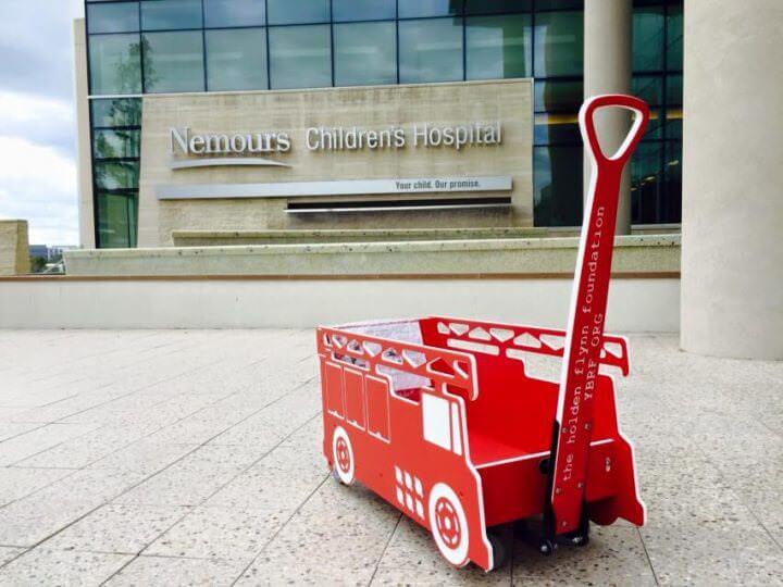 Guardian Water Services Wagon Winner - Nemours Children's Hospital