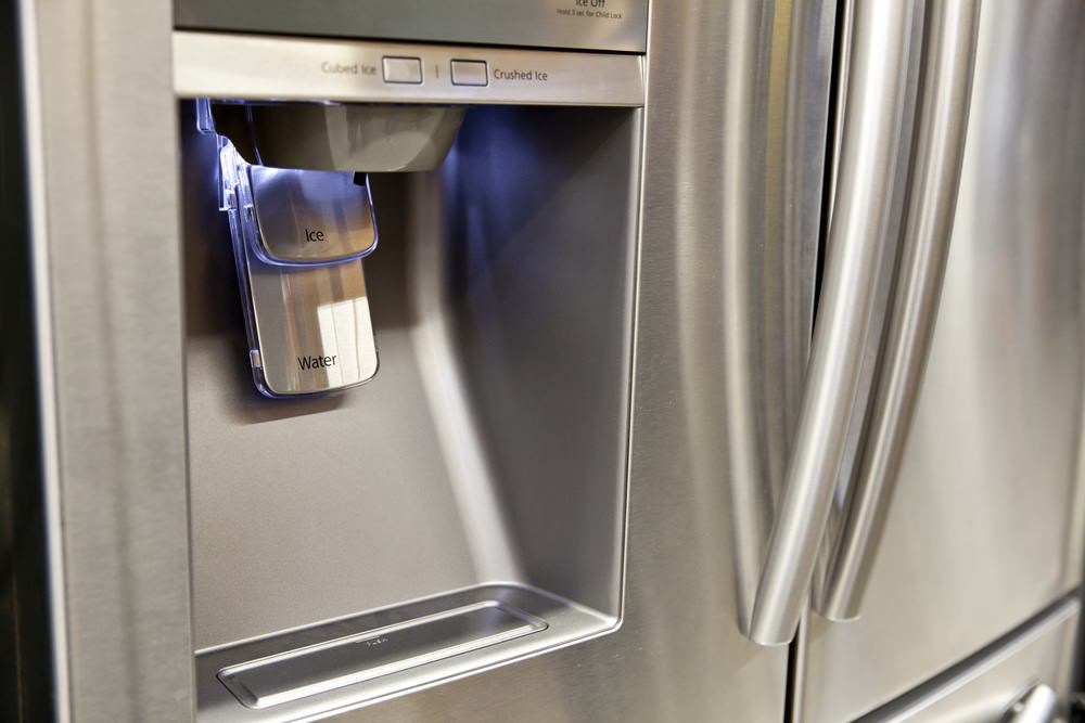Clean and functional Refrigerator Water Dispenser due to home water softener system