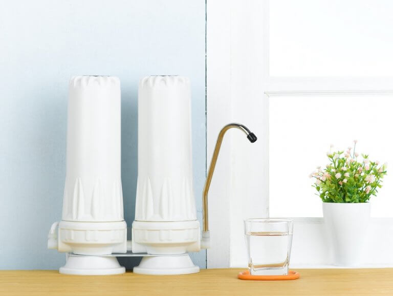 Reverse Osmosis Water Filtration System produces cleaner water