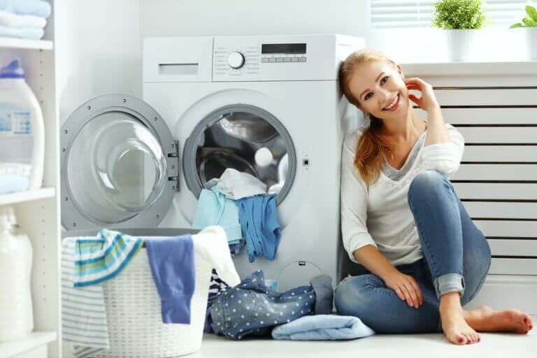 Avoid rust stains from washing machines with whole house water filters